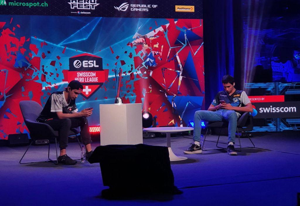 Senpai Rekt at the finals of the 4th Swisscom Hero League Finals in Bern.